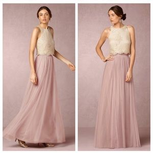 {Jenny Yoo} BHLDN Louise Tulle Maxi Skirt